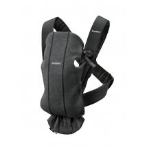 BabyBjörn Mini μάρσιπος 3D Jersey - Charcoal Grey, 021076