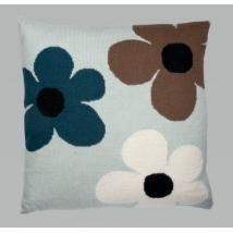 Luckyboysunday πλεχτή μαξιλαροθήκη - Flower Mint