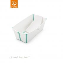 Stokke® Flexi Bath® μπανάκι Bundle - Λευκό μπλε