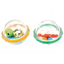 Munchkin φούσκες για παιχνίδι στο μπάνιο σετ 2 τμχ. - Turtle