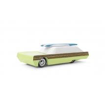 Candylab Americana ξύλινο μαγνητικό αυτοκίνητο με κανό - Surfin Griffin CL008508