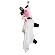 Zoocchini παιδική μπουρνουζοπετσέτα - Cow