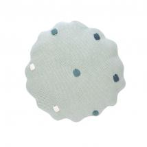 Lassig πλεχτό μαξιλάρι - Dots light mint 1542013561
