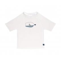 Lassig UV T-shirt μπλουζάκι θαλάσσης - Ship in a Bottle White 1431020127