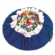 Play & Go στρώμα παιχνιδιού και τσάντα 2 σε 1 μονόχρωμο - Cobalt Blue PG400043