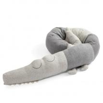 Sebra  μαξιλάρι-πάντα κροκόδειλος - Sleepy croc storm grey 3001301