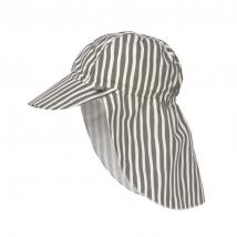 Lassig παιδικό καπέλο με προστασία λαιμού - Stripes olive 1433015575