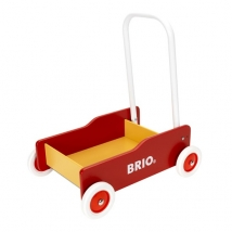 Brio ξύλινο καροτσάκι-περπατούρα - Κόκκινο 31350
