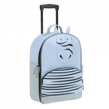 Lassig τροχήλατη βαλίτσα About Friends 2019 - Zebra 1204005467