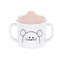 Lassig ποτηράκι με διπλό χερούλι - Little Chums Mouse