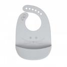 Lassig σαλιάρα από σιλικόνη - Mouse grey 1311020253