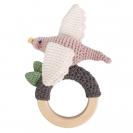 Sebra crochet κουδουνίστρα - Bird on the ring 3009210