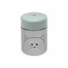 Lassig μεταλλικό βάζο φαγητού - Little Chums Cat 1310024108