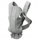 BabyBjörn Mini μάρσιπος 3D Jersey - Light Grey, 021072