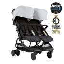 Mountain buggy® Nano Duo παιδικό καρότσι για δίδυμα - Silver V1-6