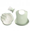 BabyBjörn πλήρες σετ φαγητού - Powder Green 070061