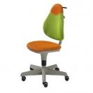 Paidi μαθητική καρέκλα γραφείου Pepe - πράσινο-πορτοκαλί