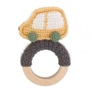 Sebra crochet κουδουνίστρα - Car on the ring 3009109