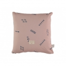 Nobodinoz μαξιλάρι Descartes - blue secrets/misty pink NB100562