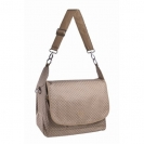 Lassig Messenger bag τσάντα αλλαγής Gold label - cognac LMB426