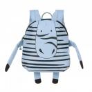 Lassig Children's παιδική τσάντα πλάτης About Friends - Kaya, the zebra