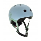 Scoot & Ride παιδικό κράνος - 96322 Steel