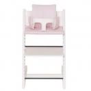 Les Rêves d'Anaïs μαξιλάρι καρέκλας φαγητού - pink bows 41-086