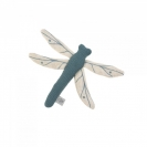 Lassig πλεκτό παιχνίδι με κουδουνάκι - Dragon Fly blue 1313009472