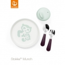 Stokke® Munch σετ φαγητού Essentials - Soft mint