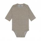 Laessig βαμβακερό φορμάκι - Striped Grey Melange 1531010136