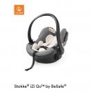 Stokke  iZi Go Modular X1  i-Size κάθισμα αυτοκινήτου by BeSafe - Black Melange