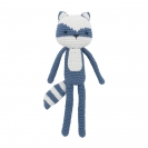 Sebra crochet χειροποίητο ζωάκι - Racoon 3001114