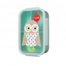 3 Sprouts τάπερ Lunch Bento Box - Owl
