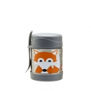3 Sprouts ανοξείδωτο βάζο φαγητού - Fox