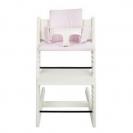 Les Rêves d'Anaïs μαξιλάρι καρέκλας φαγητού - pink stripes 34-086