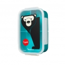 3 sprouts τάπερ Lunch Bento Box - Bear