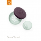 Stokke® Munch σετ φαγητού Snack Pack - Soft mint