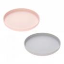 Lassig πιάτο bamboo 2 τμχ. - grey/light pink 1310020248