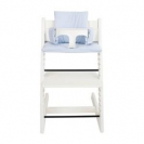 Les Rêves d'Anaïs μαξιλάρι καρέκλας φαγητού - blue stripes 33-086