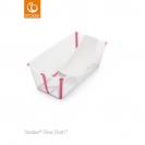 Stokke® Flexi Bath® μπανάκι Bundle - Διάφανο ροζ