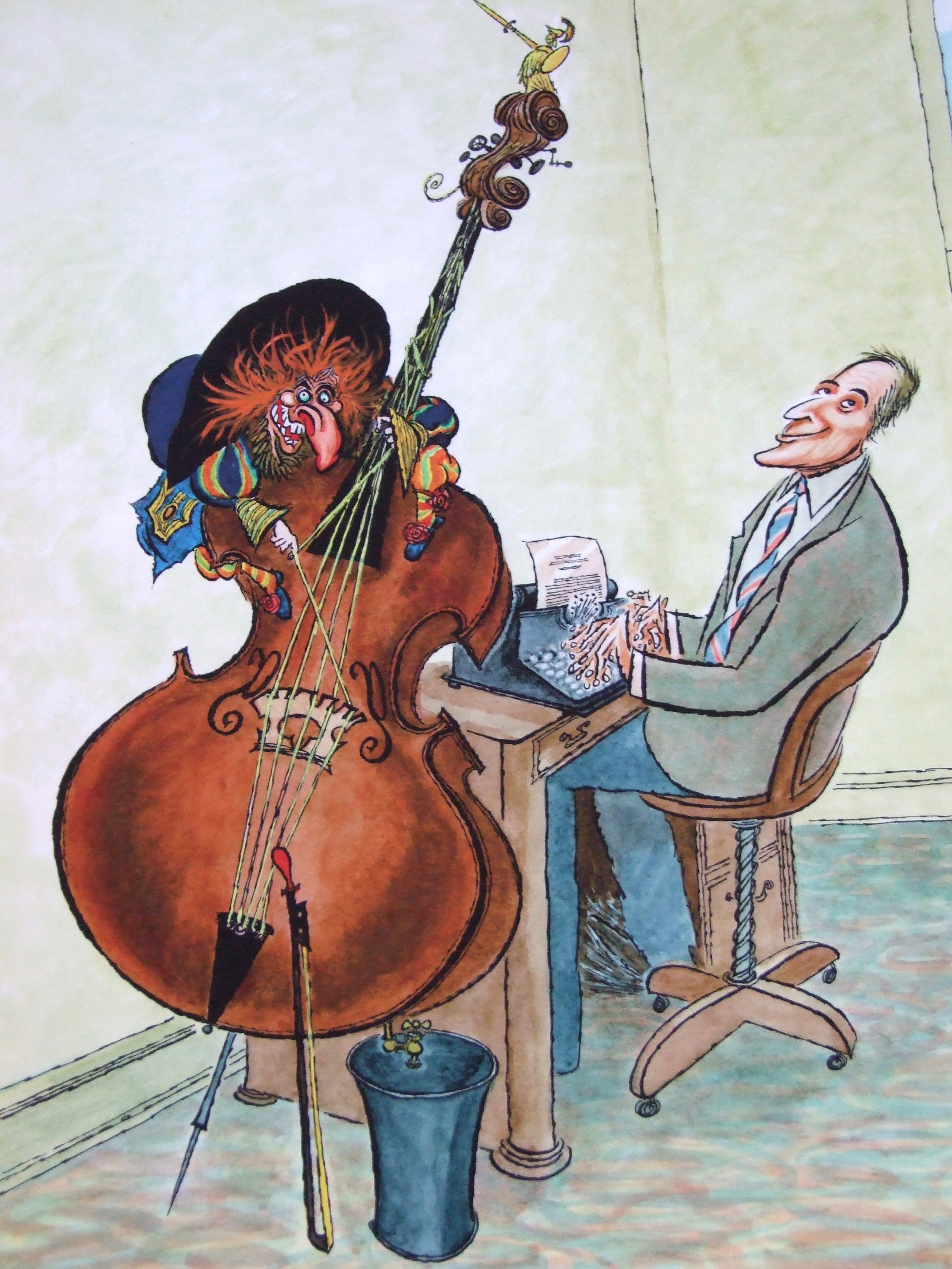 Of A Cartoon Of Miles By Us Illustrator And Cartoonist, Arnold Roth,  Signed By The Artist, A Copy Of The Hardback Print Edition Plus The Ebook  And Your