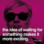 Andy warhol waiting