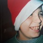 Huw in christmas hat