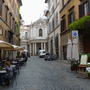 Rome  back streets behind piazza navona 3