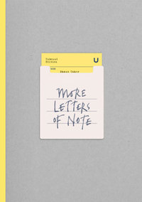 Cover of More Letters of Note