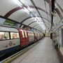 Train at hampstead tube statio 660