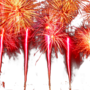 Fireworks transparent background