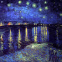 Van goghs starry night 2