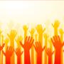 Pledge hands