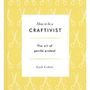 Draft cover of how to be a craftivist